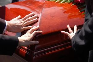 eine Bestattung